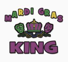 Mardi Gras King One Piece - Long Sleeve