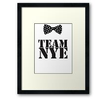 Team Bill Nye The Science Guy Framed Print