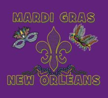 Mardi Gras New Orleans by HolidayT-Shirts