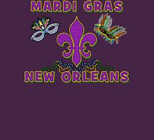 Mardi Gras New Orleans Womens Fitted T-Shirt