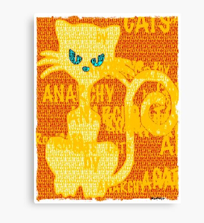 CHAT PERSON by ROOTCAT Canvas Print
