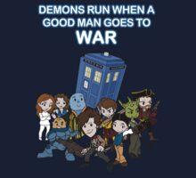 Demons Run When A Good Man Goes to War Kids Clothes