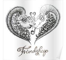 Friendsheep Poster