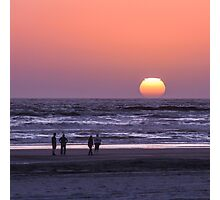 Ocean Park Sunset Photographic Print