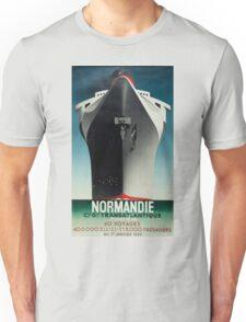 Vintage poster - Normandie Unisex T-Shirt