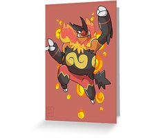 Emboar Greeting Card