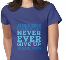 Jessie Rees Foundation Stacked Womens Fitted T-Shirt