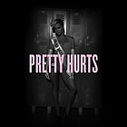 Beyoncé 'Pretty Hurts' Phone Case by Creat1ve
