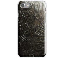 Atlas Travel Metal Work iPhone Case/Skin