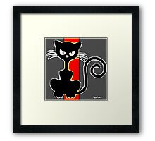 I AM CHAT PERSON TOO Framed Print