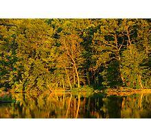 Ogle Lake Reflections 1 Photographic Print