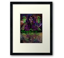 Psychedelic Pharaoh Framed Print