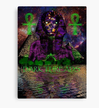 Psychedelic Pharaoh Canvas Print