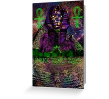 Psychedelic Pharaoh Greeting Card
