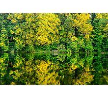 Ogle Lake Reflections 2 Photographic Print