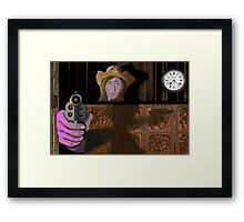 Wild West Purple Framed Print