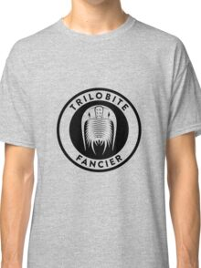 Trilobite Fancier (black on light) Classic T-Shirt