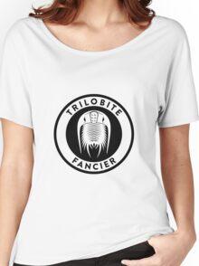Trilobite Fancier (black on light) Women's Relaxed Fit T-Shirt