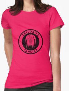 Trilobite Fancier (black on light) Womens Fitted T-Shirt