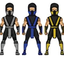 Mortal Kombat Characters Sticker