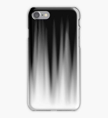 White Fade iPhone Case/Skin
