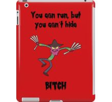 Rick and Morty: Scary Terry - You Can Run iPad Case/Skin