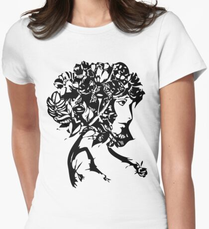 Nature Woman Womens Fitted T-Shirt