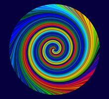 Spiral blur by Robert Gipson