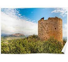 Torre d'Andritxol, Majorca Poster