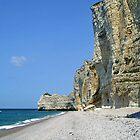 The cliffs of Etretat - France by Arie Koene