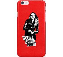 Sarah Manning iPhone Case/Skin