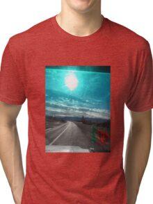 Atlas sky travel Tri-blend T-Shirt