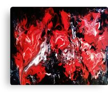 IN THE RED Canvas Print