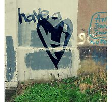 Have A Heart Poster by Kevin James Harte