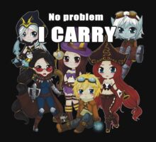 No problem I carry - League of Legends by linkitty