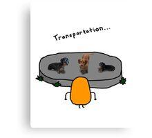 Kevin: Transportation... Canvas Print