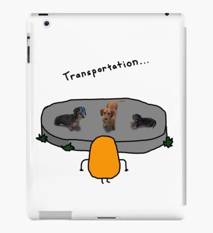 Kevin: Transportation... iPad Case/Skin