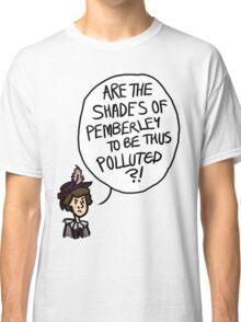 Shades of Pemberley Classic T-Shirt