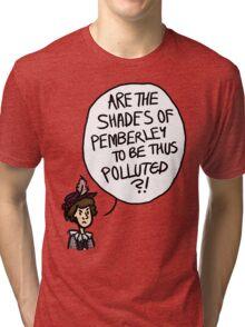 Shades of Pemberley Tri-blend T-Shirt