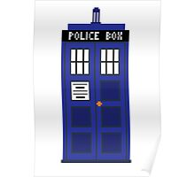 8-Bit TARDIS Poster