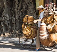 street vendor by Anne Scantlebury