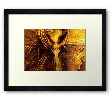 """How The Flesh Writhes"" Dark Surrealism Framed Print"