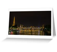La ville Lumiere Greeting Card