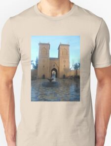 Atlas 2 towers 2 travel tshirt Unisex T-Shirt