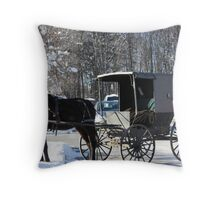 Old Way Still Can Work Throw Pillow