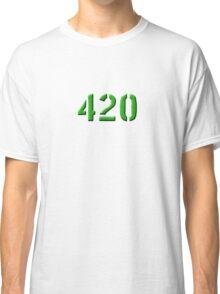420 green 0001 Classic T-Shirt