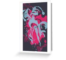 Paint Splatter Greeting Card