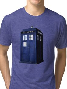 Simple Tardis  Tri-blend T-Shirt