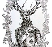Deer Lord by Theartofmv