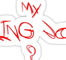 Killing joke 2 Sticker